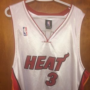 Men's Dwyane Wade Basketball Jersey Size 52